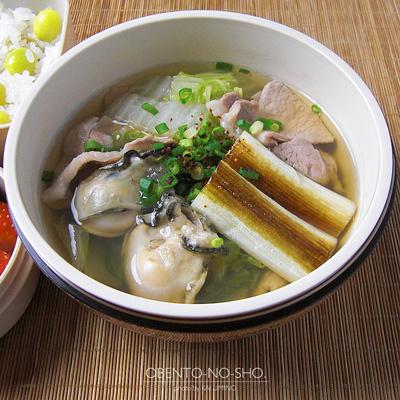 牡蠣と豚の白菜汁弁当02