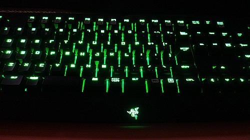 Razer BLACKWINDOW ULTIMATE 緑軸