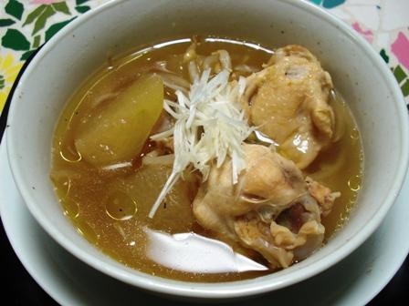 鶏と冬瓜のスープ