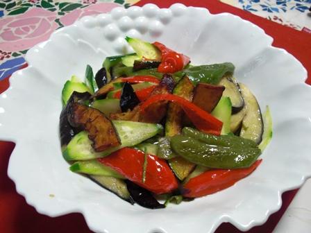 揚げ野菜サラダ