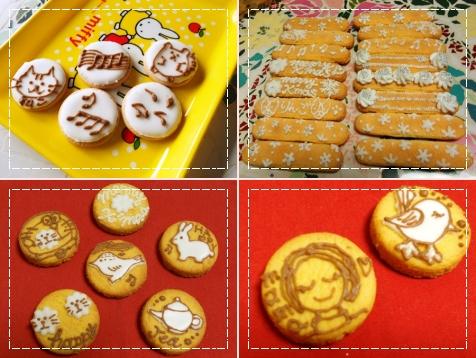 アイシングクッキー達