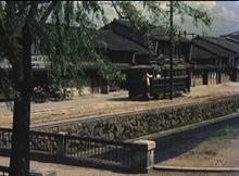 堀川と市電