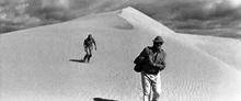 砂漠から本道へ