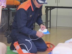 AED実演
