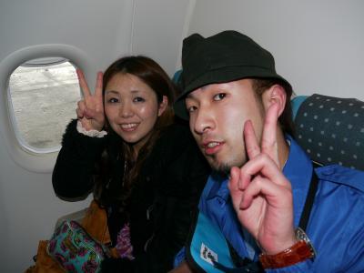 機内にて・・・2