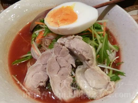 秋葉原炎麺ピリ辛トマト冷し麺大盛り全部のせ032