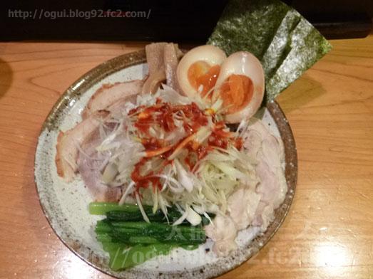 秋葉原炎麺ピリ辛トマト冷し麺大盛り全部のせ034