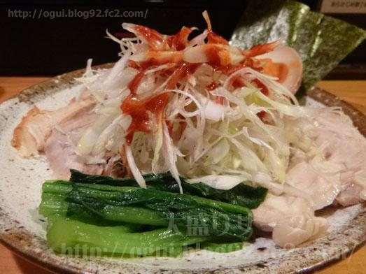 秋葉原炎麺ピリ辛トマト冷し麺大盛り全部のせ035