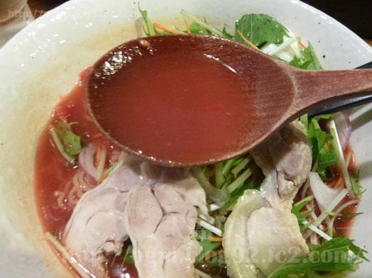 秋葉原炎麺ピリ辛トマト冷し麺大盛り全部のせ036