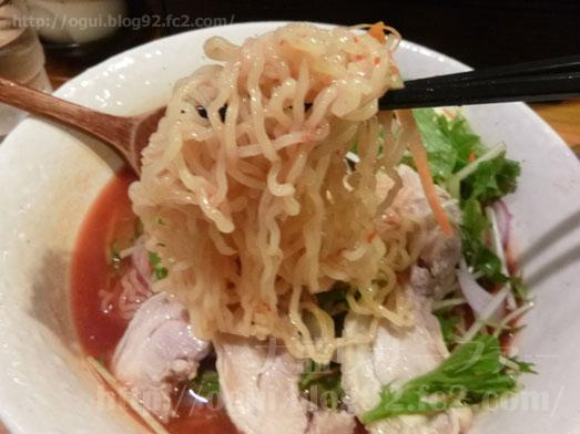 秋葉原炎麺ピリ辛トマト冷し麺大盛り全部のせ037