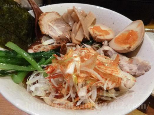 秋葉原炎麺ピリ辛トマト冷し麺大盛り全部のせ043