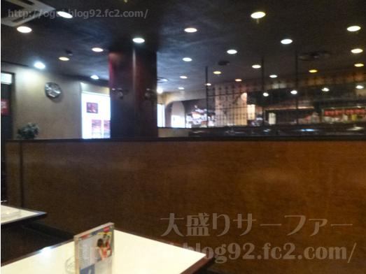 船橋喫茶店セピアでナポリタン大盛り007