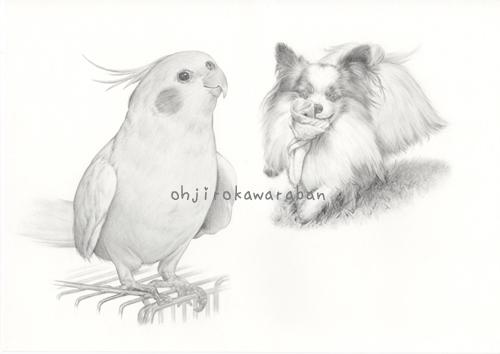 4-鉛筆画原画2