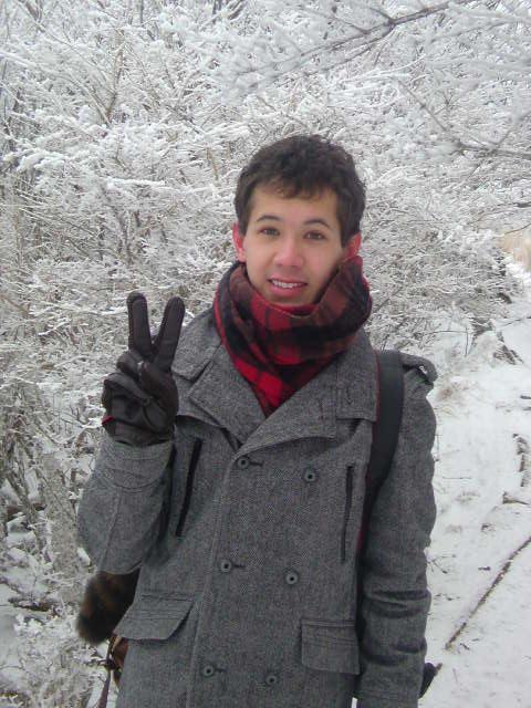 雪山のマウ