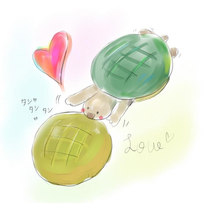亀の求愛 66