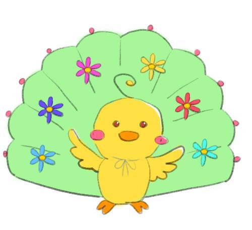 花孔雀インコ