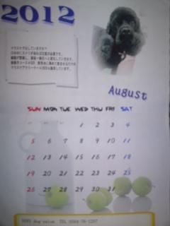 030クロのカレンダー