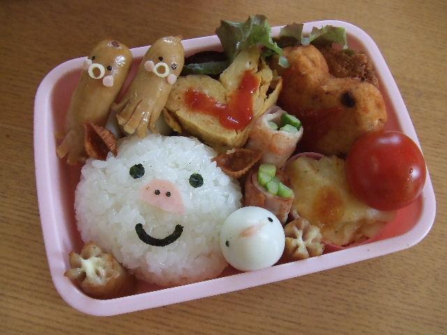 子ぶた弁当