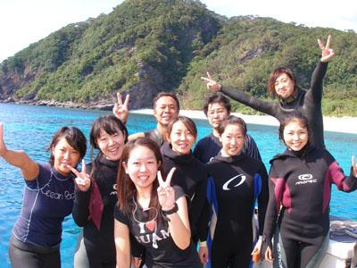 慶良間ダイビング