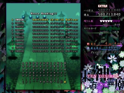 神Ex 妖夢5.8億