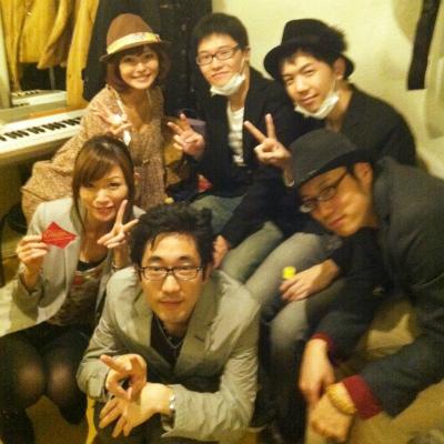 アンコール渋谷楽屋