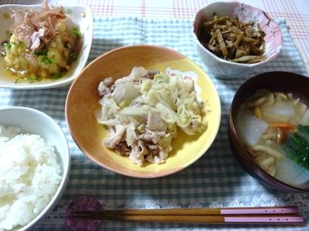 豚肉と白菜のさっと煮