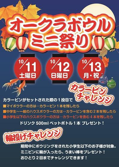 ミニ祭り2014
