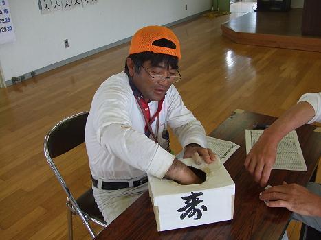 2012タコつぼ抽選会