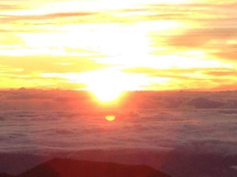 マウナケア雲海