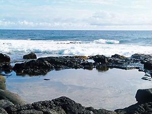 サウスポイントの海岸