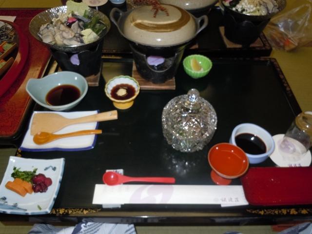 銀波荘 夕食2