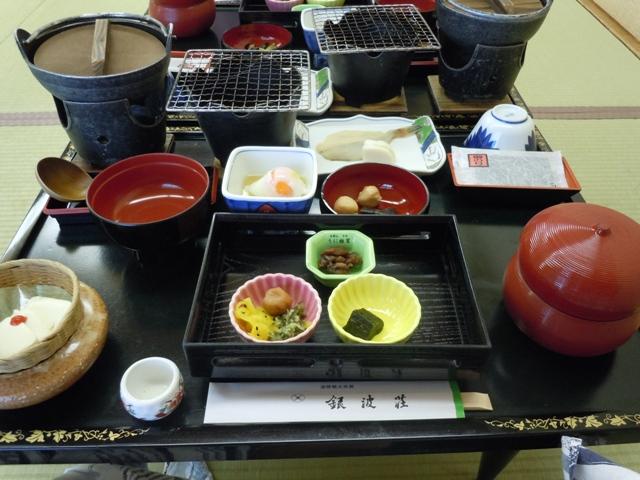 銀波荘 朝食