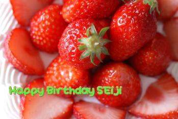 Happy Birthday SEIJI