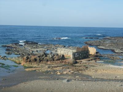 日本海を眺めて温泉。不老ふ死温泉