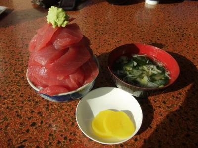 鶴亀食堂 マグロ丼ミニサイズ1,300円