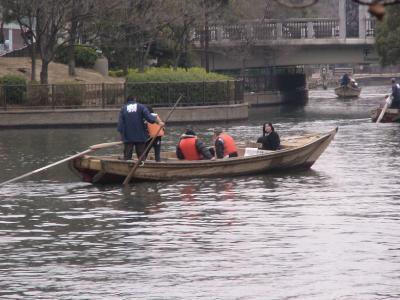 横十間川 和船②