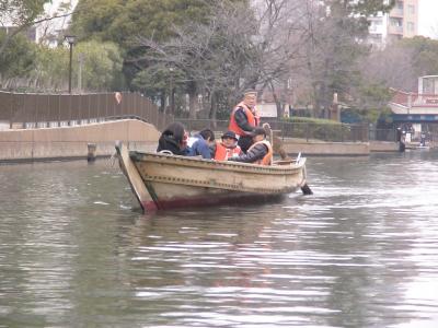 横十間川 和船①