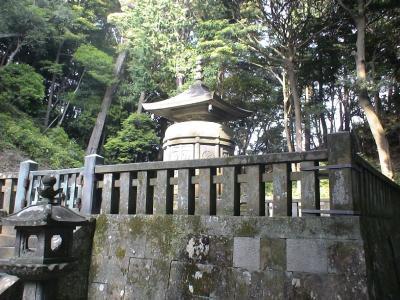 神廟(家康公のお墓所)