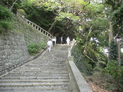 表参道の石段