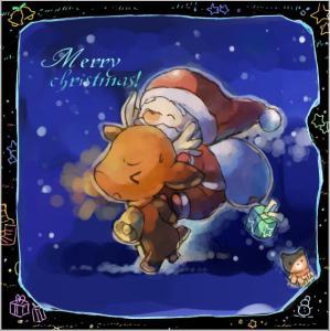 イラストクリスマス