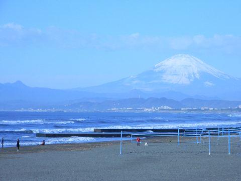 2011/1/1 鵠沼銅像前①