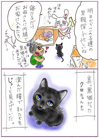 天才なるおさなご達 ~我輩は書生猫である~-黒猫ちゃん1