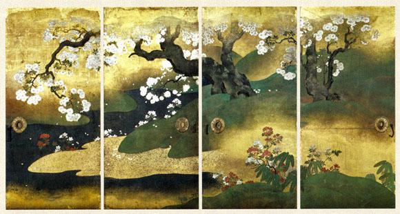 京都展桜花図