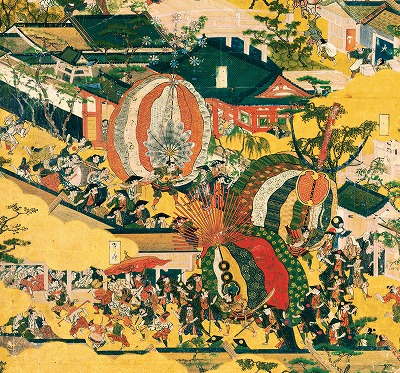 京都洛中洛外図船木本