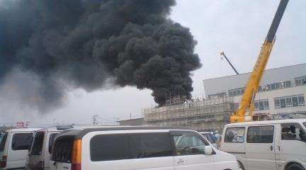 広島特別支援学校火災