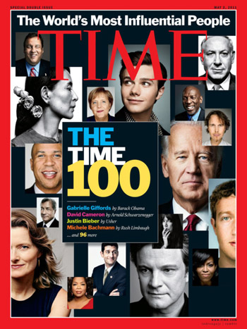 TIME誌表紙