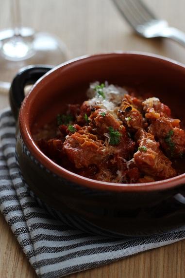 トリッパトマト煮1