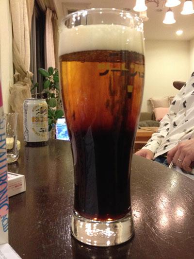 ビールで。。。。