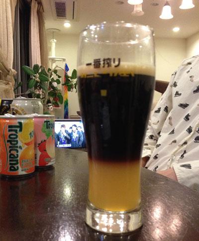 ビールで。。。。。