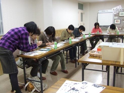手彫りはんこ教室